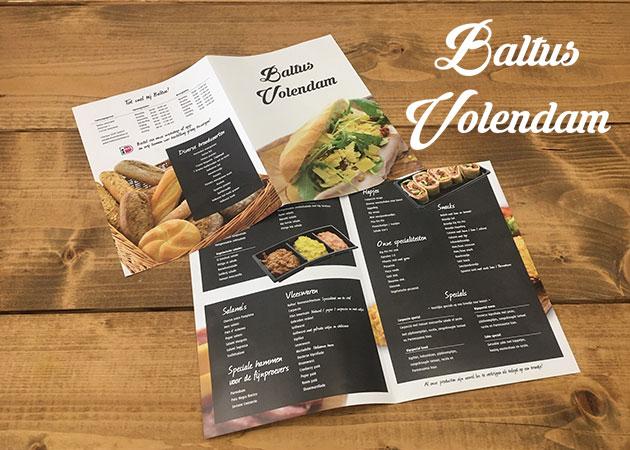 Baltus Volendam – folder